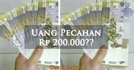 uang pecahan, 200000,bank indonesia,hoax