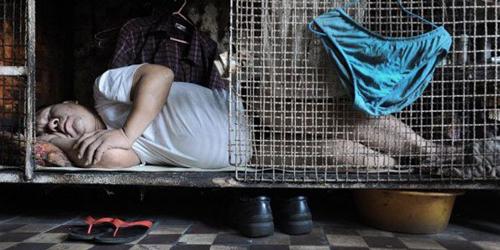 Tempat tinggal buruh Hong Kong