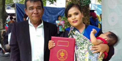 Susi Sianturi, lulusan Cum Laude IPB