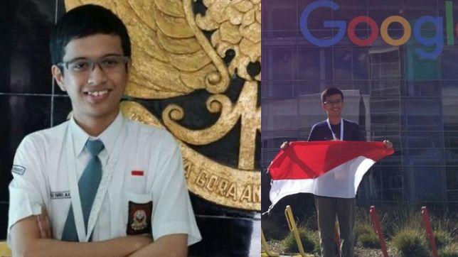 Farrel Millenio, siswa asal Yogya yang diundang Google berkat penemuannya