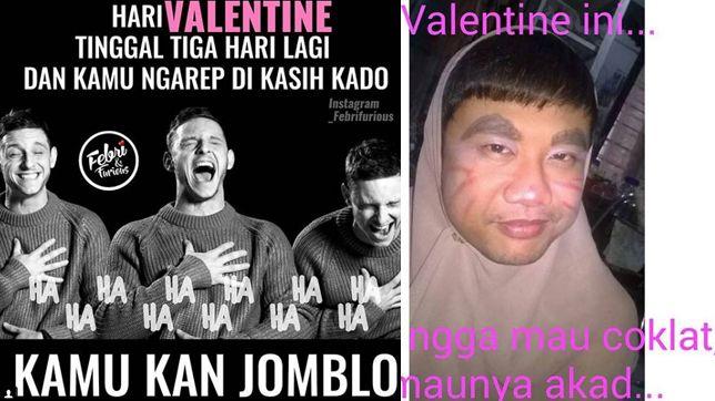 Meme Kocak Hari Valentine