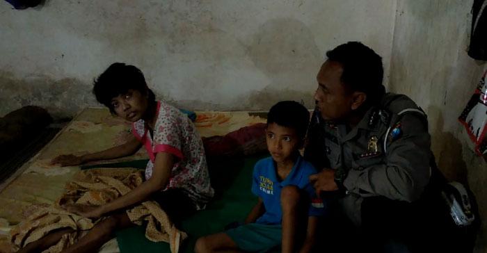 Ardiansyah, Bocah Lamongan rela putus sekolah demi merawat ibunda