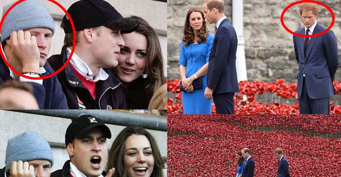 Gemes Banget! Deretan Foto 'Ngenes' Saat Pangeran Harry Jadi 'Obat Nyamuk' Pangeran William dan Kate Middleton