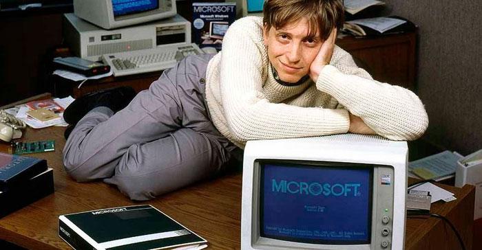 Bill Gates Muda