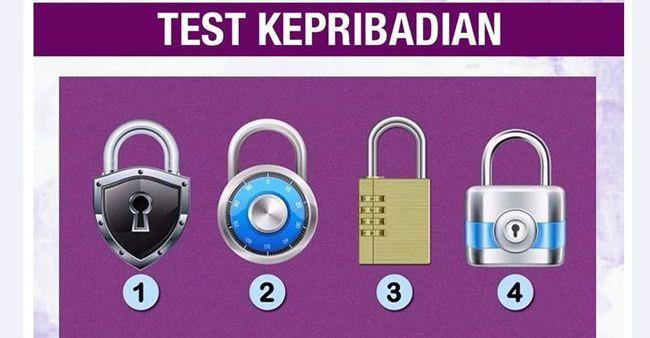 Tes kepribadian, mana gembok yang paling aman menurutmu?