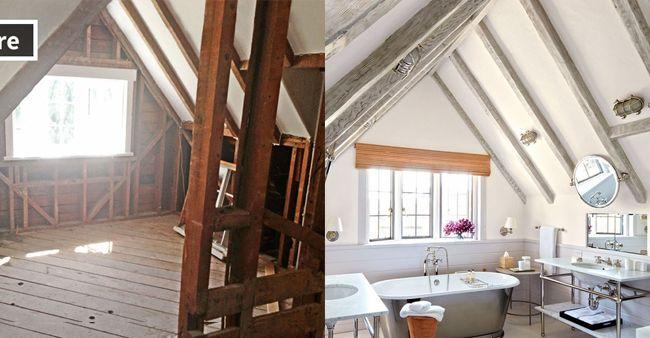 Transformasi menakjubkan ruangan yang tidak terurus