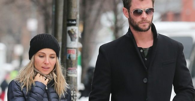 Chris Hemsworth dan Elsa Pataky