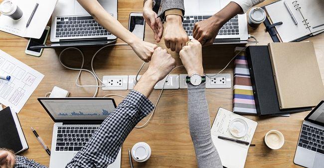 Kerjasama tim, orang- orang sukses