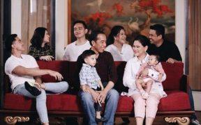 Keluarga besar Presiden Jokowi dan Ibu Iriana