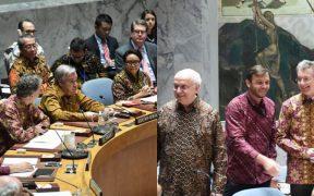 Keren! Sidang Keamanan PBB ini Memakai Batik sebagai Dress Code