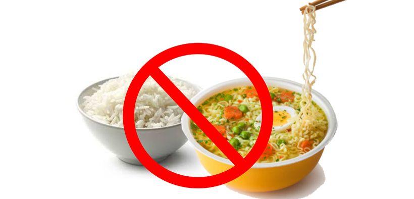 Makan mie instan dengan nasi berbahaya untuk kesehatan
