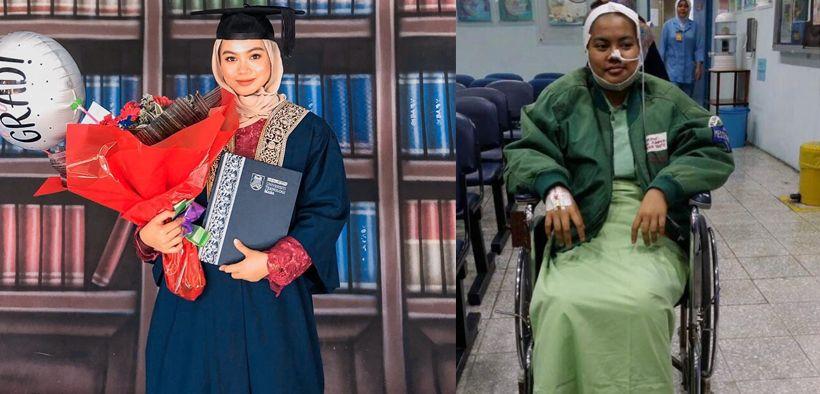 Kisah viral Aidi Rashidi, berhasil wisuda meski mengalami kanker