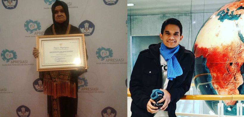 Anaknya Kuliah di AS, Ibu Pedagang Sayur Raih Penghargaan Kemdikbud