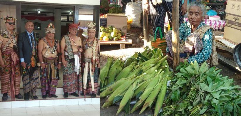 Anak jadi bupati, ibu tetap memilih jualan sayur di pasar