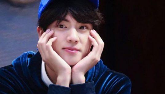 Jin BTS, pria tertampan di dunia