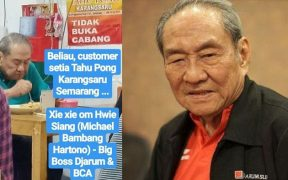 Michael Bambang Hartono, orang terkaya Indonesia nggak minder makan di warung sederhana