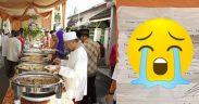 Diam-diam Ikut Makan di Resepsi, Alasan Pria Ini Bikin Trenyuh