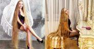 Berkenalan dengan Alena Kravchenko, sosok Rapunzel dunia nyata