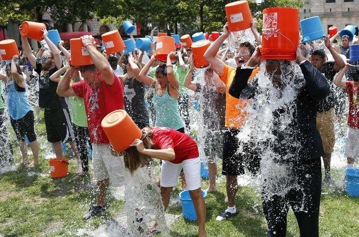 9. Ice Bucket Challenge