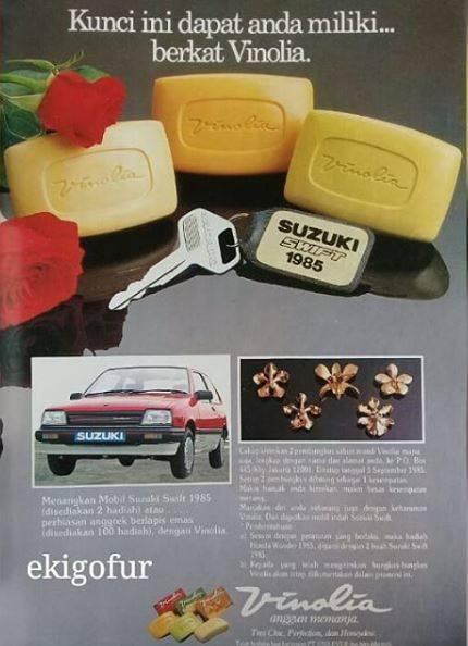3. Yang ini namanya strategi marketing, beli sabun mandi bisa dapet hadiah mobil, hehehe…