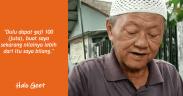 Kisah mualaf Hasanudin, dulu GM gaji 100 juta, kini banting stir menjadi penjual es cincau