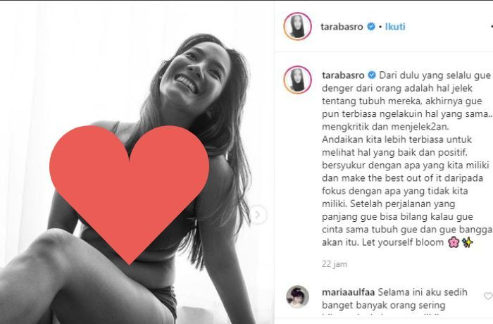 Kata- kata bijak Tara Basro penuh motivasi