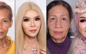 Ari Izam, heboh make up nenek menjadi remaja glowing