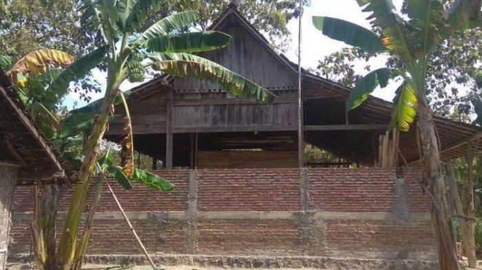 Rumah pindah tempat dalam semalam di Ngawi
