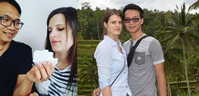 Agus Viola, Pasangan Cirebon & Bule Jerman