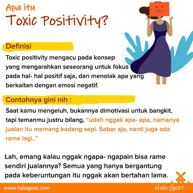 Pengertian Toxic Positivity