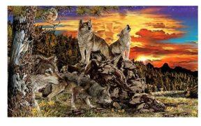 Tes kepribadian jumlah serigala