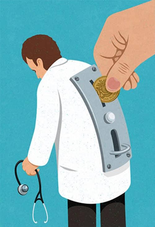 1. Bekerja untuk yang memberi uang
