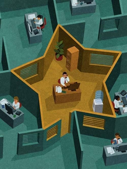15. Realita bekerja di kantor