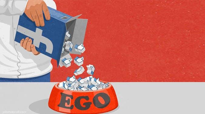 3. Memberi makan ego