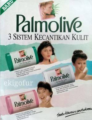 4. Iklan sabun mandi Palmolive