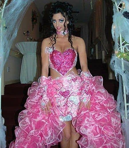 Gaun ala barbie untuk pernikahan