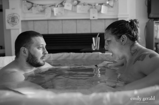 7. Berjuang bersama dalam water birth