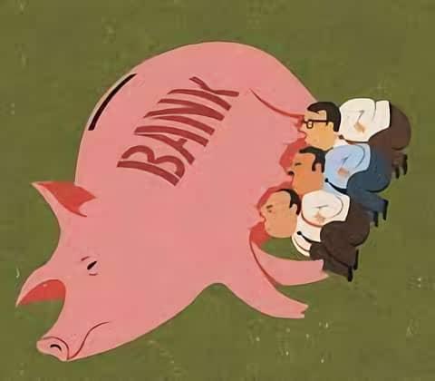 8. Ketergantungan pada Bank