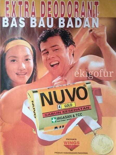 8. Iklan Sabun Mandi Nuvo