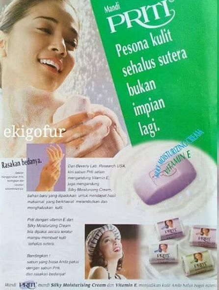 9. Iklan sabun mandi Priti Jadul