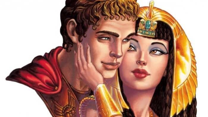 Kisah cinta Cleopatra dan Mark Anthony