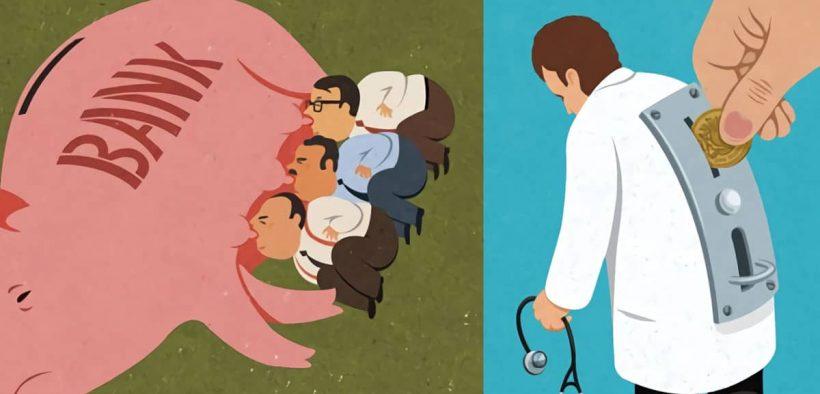 Gambar Ilustrasi menggambarkan keadaan dunia saat ini