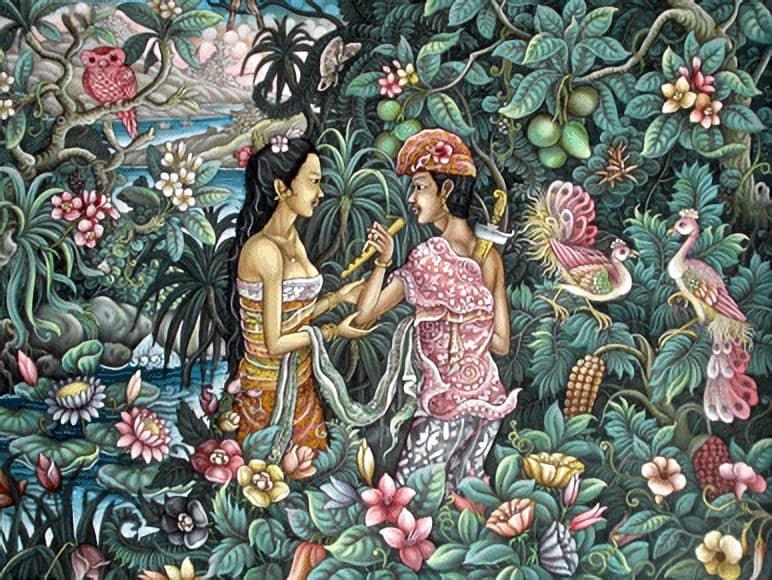 Kisah cinta Jayaprana dan Layonsari