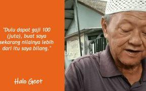 Kisah mualaf Hasanudin, dari GM Bergaji ratusan juta kini berjualan cincau