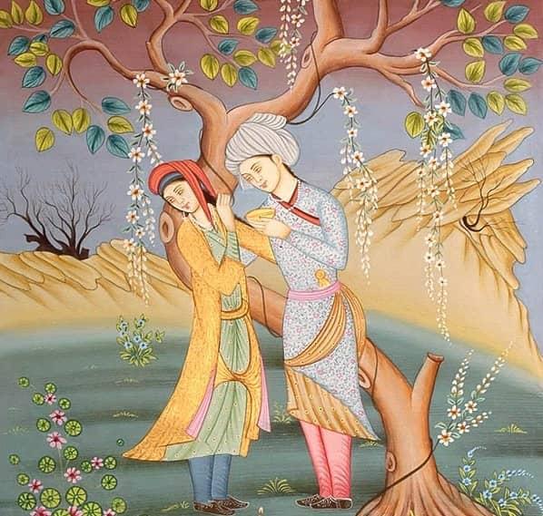 Kisah cinta tragis Laila Majnun