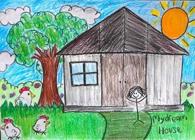 Gambar rumah impian Chef Renatta saat kecil
