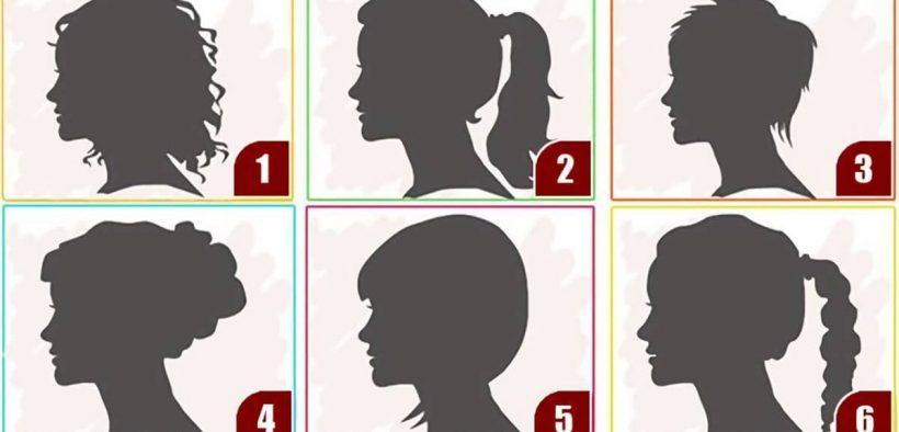 Tes kepribadian siluet gaya rambut