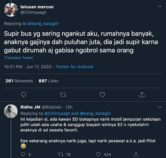 Kisah viral Office Boy resign - Tanggapan Netizen