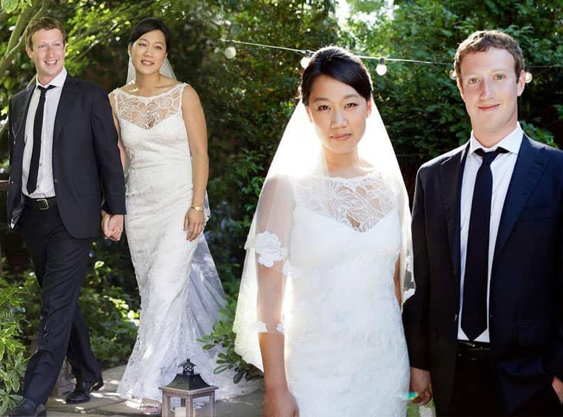 Pernikahan Mark Zuckerberg & Priscilla Chan
