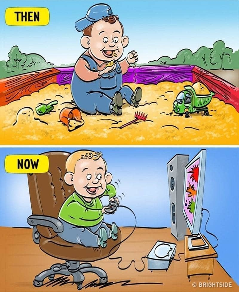 2. Beda keseruan anak zaman old vs anak zaman now